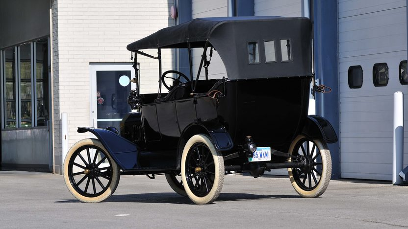 1915 Ford Brass T Phaeton 177 CI, Electric Starter presented as lot S119 at Kansas City, MO 2013 - image3