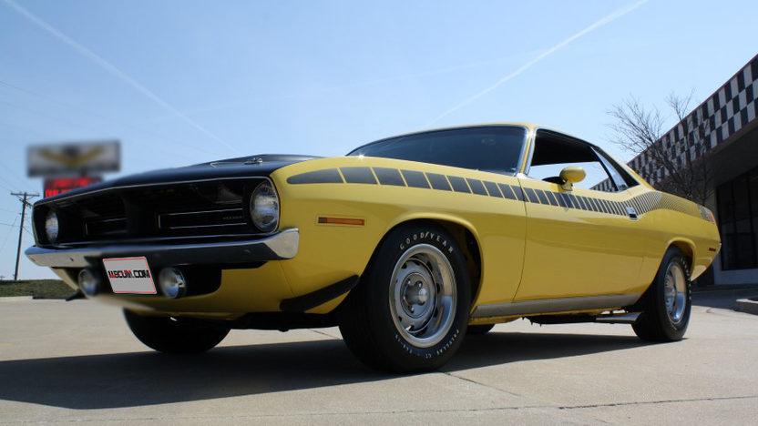 1970 Plymouth AAR Cuda 340 CI, 4-Speed presented as lot S156 at Kansas City, MO 2013 - image9