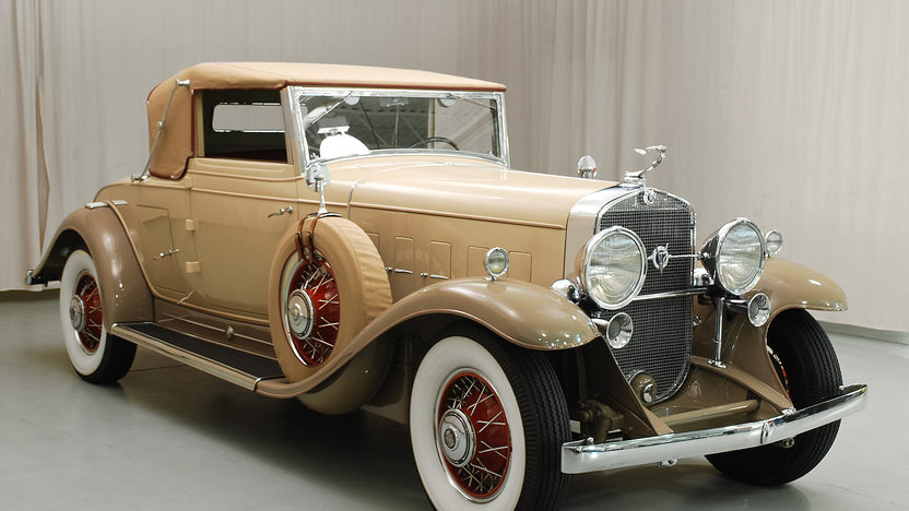 1931 Cadillac V-12 Convertible Coupe 368/135 HP, 3-Speed, Rumble Seat presented as lot S165.1 at Kansas City, MO 2013 - image12