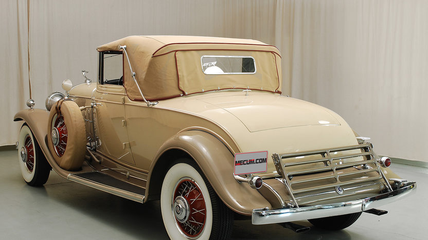 1931 Cadillac V-12 Convertible Coupe 368/135 HP, 3-Speed, Rumble Seat presented as lot S165.1 at Kansas City, MO 2013 - image3