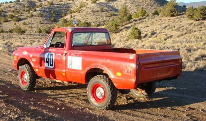 1969 Chevrolet Steve Mcqueen Baja Hickey Race Truck The First Chevy Built Baja 1000 Pickup presented as lot F239 at Santa Monica, CA 2013 - image2
