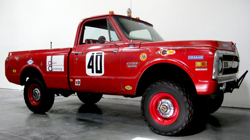 1969 Chevrolet Steve Mcqueen Baja Hickey Race Truck The First Chevy Built Baja 1000 Pickup presented as lot F239 at Santa Monica, CA 2013 - image6