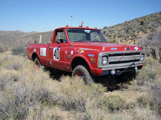1969 Chevrolet Steve Mcqueen Baja Hickey Race Truck The First Chevy Built Baja 1000 Pickup presented as lot F239 at Santa Monica, CA 2013 - image7