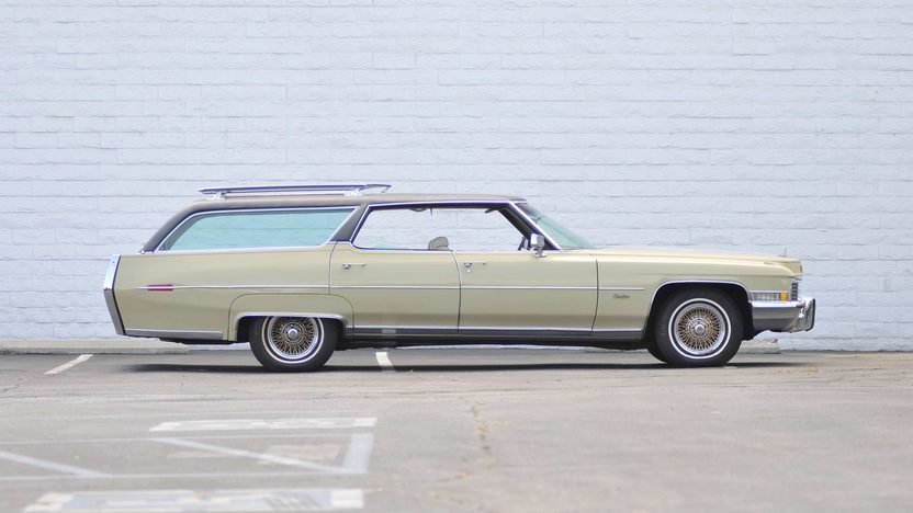 1972 Cadillac Custom Estate Wagon Elvis Presley's Personal Car presented as lot S210 at Santa Monica, CA 2013 - image2