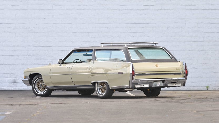 1972 Cadillac Custom Estate Wagon Elvis Presley's Personal Car presented as lot S210 at Santa Monica, CA 2013 - image3