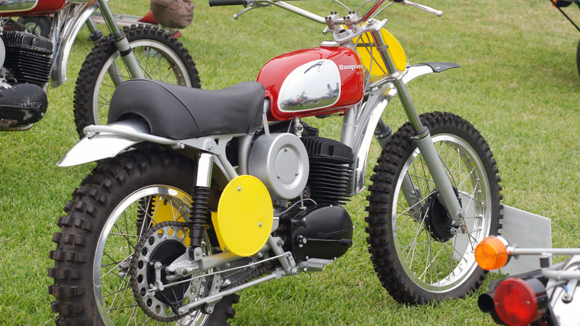 1971 Husqvarna 400 Cross Owned By Steve McQueen presented as lot F311 at Santa Monica, CA 2013 - image2