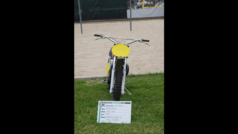 1971 Husqvarna 400 Cross Owned By Steve McQueen presented as lot F311 at Santa Monica, CA 2013 - image5