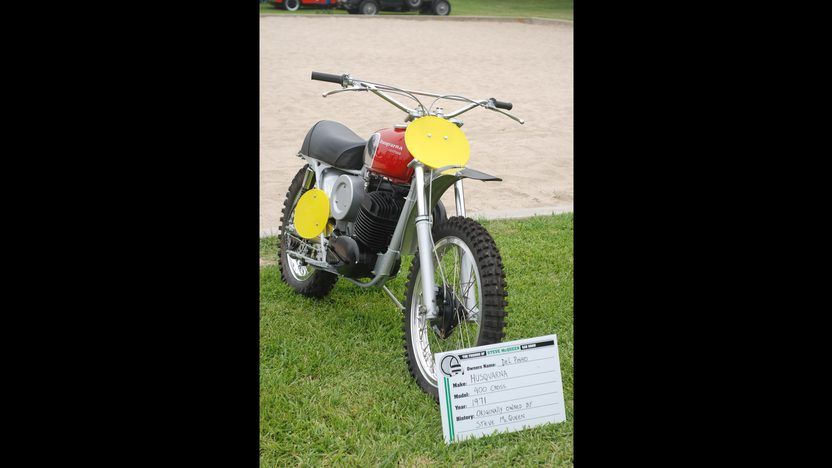 1971 Husqvarna 400 Cross Owned By Steve McQueen presented as lot F311 at Santa Monica, CA 2013 - image6