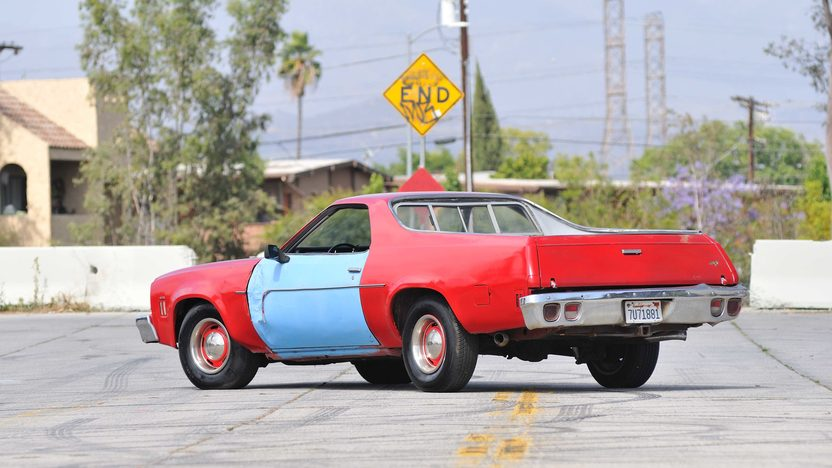 1973 Chevrolet El Camino From the TV Series, My Name is Earl presented as lot S369 at Santa Monica, CA 2013 - image3