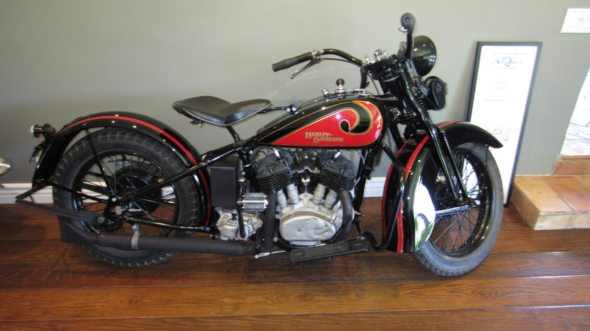 1931 Harley-Davidson VL Formerly Owned by Steve McQueen presented as lot F238 at Santa Monica, CA 2013 - image2