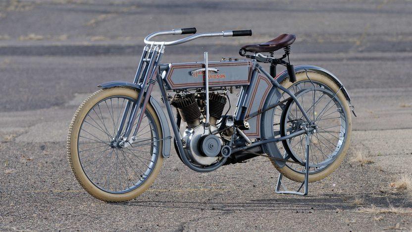 1911 Harley-Davidson 7D Twin   presented as lot S471 at Las Vegas, NV 2014 - image4