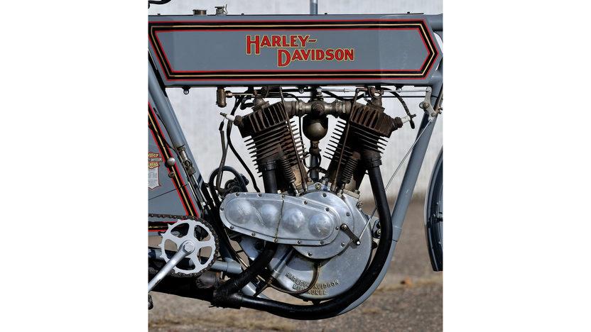 1911 Harley-Davidson 7D Twin   presented as lot S471 at Las Vegas, NV 2014 - image7