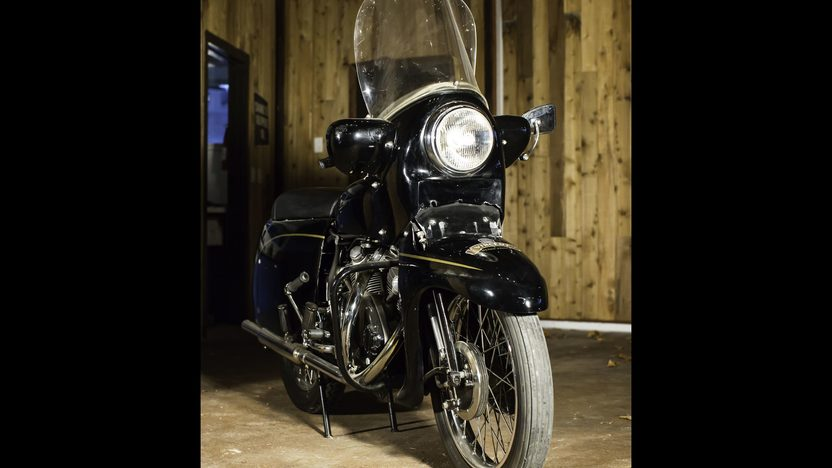 1955 Vincent Black Prince   presented as lot S499 at Las Vegas, NV 2014 - image2