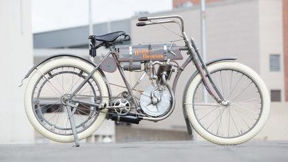 1908 Harley-Davidson Strap Tank