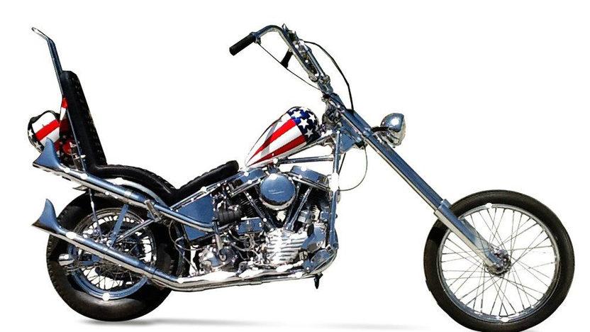 Captain America Harley Davidson Replica For Sale