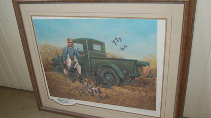 Good Times Truck Picture Framed