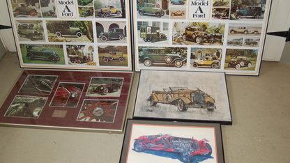 Car Artwork Framed