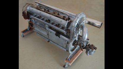 Miller 91 Supercharged Engine