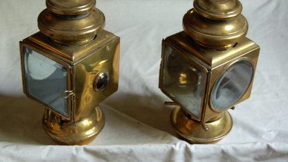 Brass Sidelamps