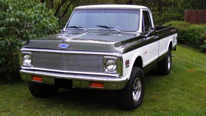 1972 Chevrolet Cheyenne K10 Pickup