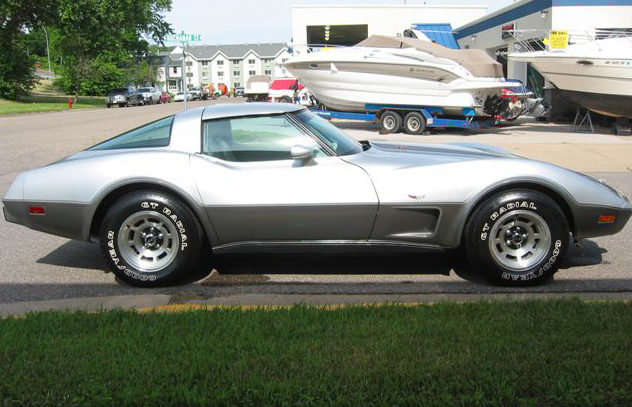 1978 Chevrolet Corvette Coupe 350/220 HP, Automatic presented as lot S54 at St. Paul, MN 2011 - image3