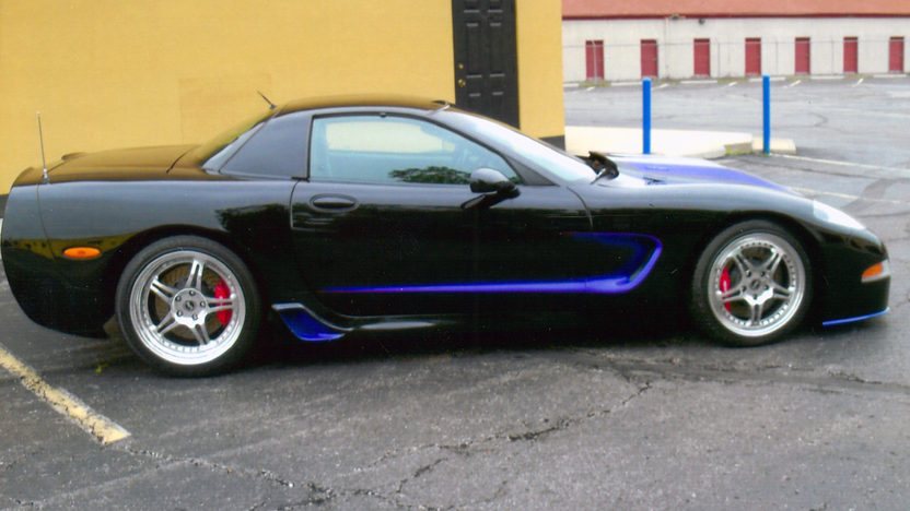 2002 Chevrolet Corvette Z06 Lingenfelter LS6, 6-Speed presented as lot S115 at St. Paul, MN 2011 - image3