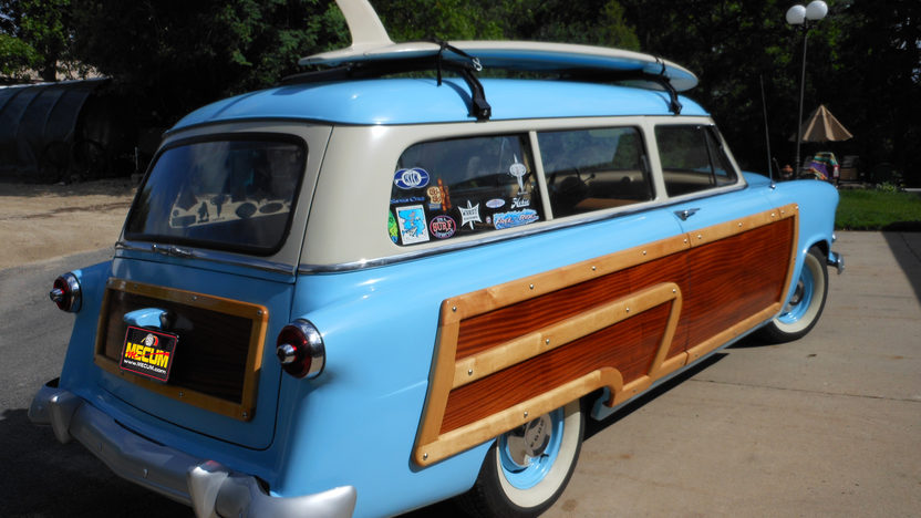 1953 Ford Woody Station Wagon presented as lot S65 at St. Paul, MN 2012 - image2