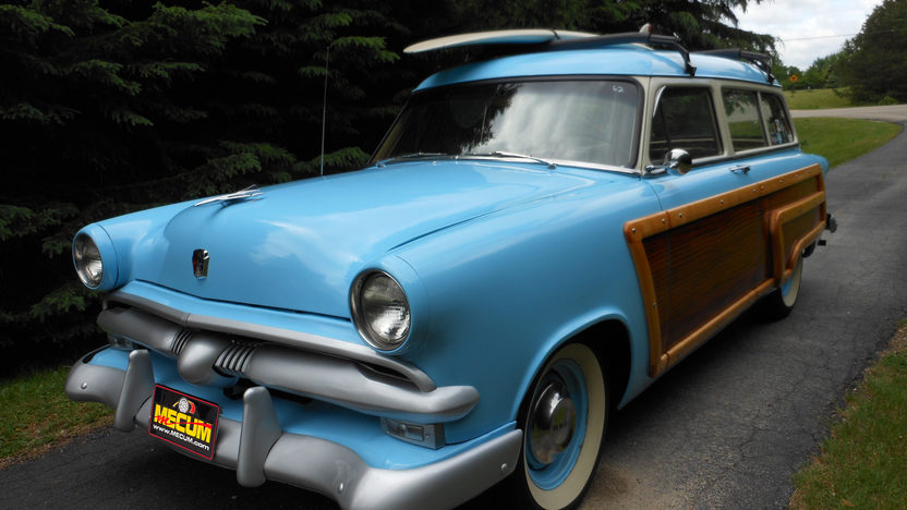1953 Ford Woody Station Wagon presented as lot S65 at St. Paul, MN 2012 - image8