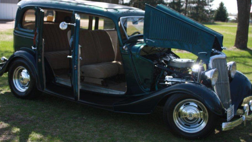 1934 ford 4 door sedan mecum st paul 2012 s86 for 1934 pontiac 4 door sedan