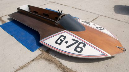 Racing 11' Marrchette Hydroplane Outboard
