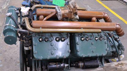 1930 Chris-Craft A-70 V-8 Engine