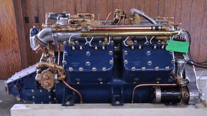 1930 Chris-Craft A-120 V-8 Engine