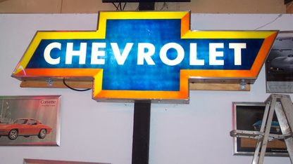 Sign Chevrolet Bow Tie