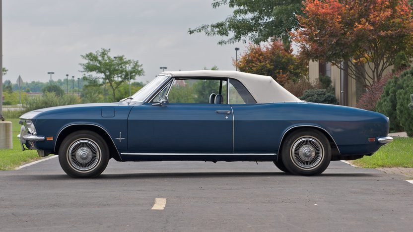 1969 Chevrolet Corvair Monza Convertible presented as lot S34 at Canal Winchester, OH 2010 - image3