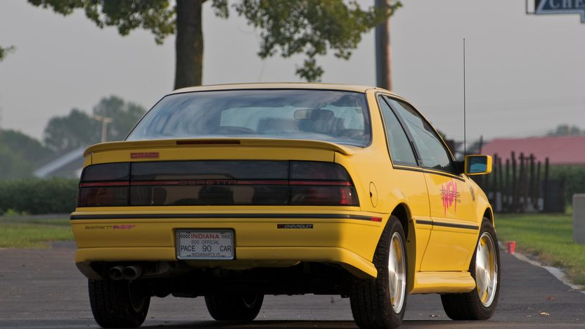 1990 Chevrolet Beretta Pace Car Replica presented as lot S47 at Canal Winchester, OH 2010 - image2