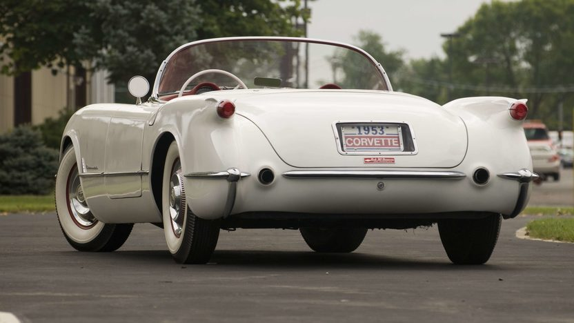 1953 Chevrolet Corvette Roadster 235 CI, Automatic presented as lot S57 at Canal Winchester, OH 2010 - image4