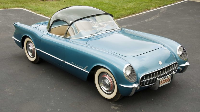1954 Chevrolet Corvette Roadster Rare Plastic Bubble Hardtop, Automatic presented as lot S58 at Canal Winchester, OH 2010 - image3