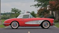 1958 Chevrolet Corvette Convertible Previously Owned by George Strait presented as lot S62 at Canal Winchester, OH 2010 - thumbail image2