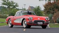 1958 Chevrolet Corvette Convertible Previously Owned by George Strait presented as lot S62 at Canal Winchester, OH 2010 - thumbail image4