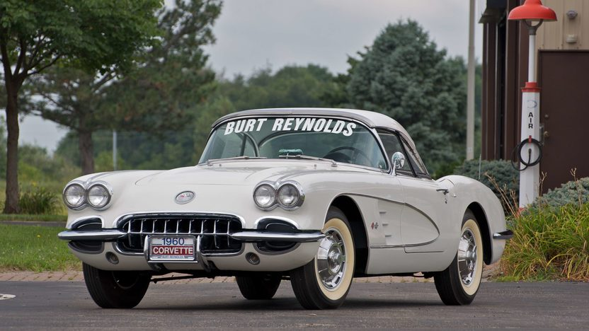 1960 Chevrolet Corvette Convertible Previously Owned by Burt Reynolds presented as lot S64 at Canal Winchester, OH 2010 - image3