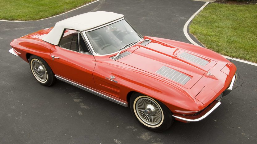 1963 Chevrolet Corvette Convertible Fuel Injection presented as lot S69 at Canal Winchester, OH 2010 - image2