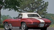 1963 Chevrolet Corvette Convertible Bunkie Knudsen's presented as lot S70 at Canal Winchester, OH 2010 - thumbail image2