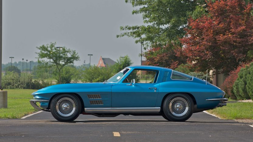 1964 Chevrolet Corvette Coupe Bill Mitchell Experimental Sting Ray XX presented as lot S72 at Canal Winchester, OH 2010 - image2