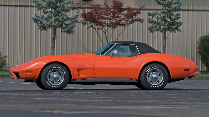 1975 Chevrolet Corvette Convertible 350/205 HP, 4-Speed presented as lot S88 at Canal Winchester, OH 2010 - image2