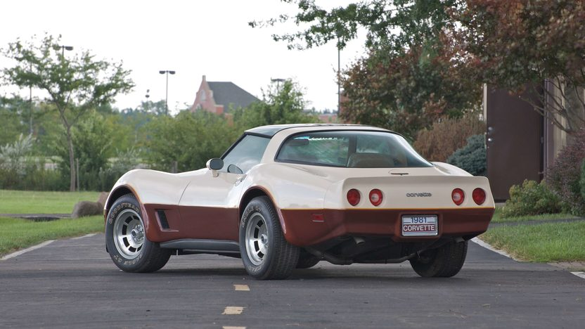 1981 Chevrolet Corvette Coupe Automatic presented as lot S94 at Canal Winchester, OH 2010 - image2