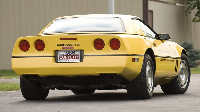 1986 Chevrolet Corvette Pace Car Serial #1, 1G1YY6788G5900001, Rare Hardtop presented as lot S99 at Canal Winchester, OH 2010 - image2