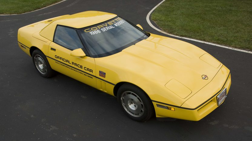 1986 Chevrolet Corvette Pace Car Serial #1, 1G1YY6788G5900001, Rare Hardtop presented as lot S99 at Canal Winchester, OH 2010 - image4