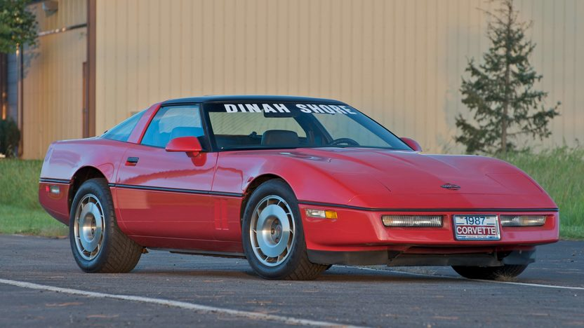 1987 Chevrolet Corvette Coupe Previously Owned by Dinah Shore presented as lot S101 at Canal Winchester, OH 2010 - image2