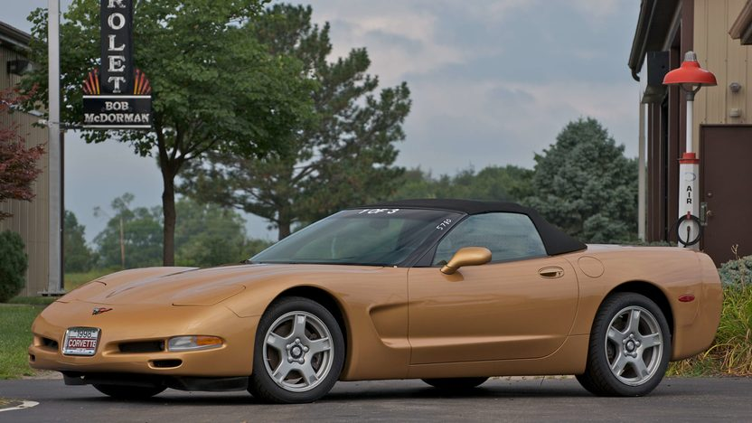 1998 Chevrolet Corvette Convertible 1 of 3 Special Color presented as lot S121 at Canal Winchester, OH 2010 - image3