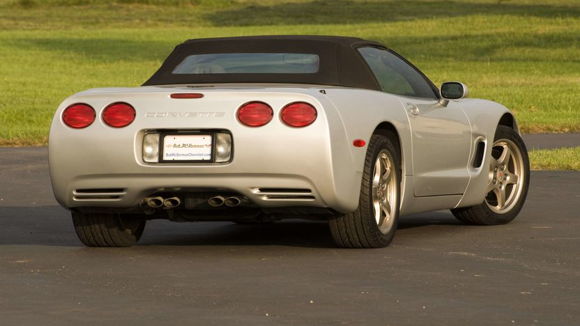 1998 Chevrolet Corvette Convertible Serial #3, 1G1YY32G6W5100003  presented as lot S124 at Canal Winchester, OH 2010 - image2